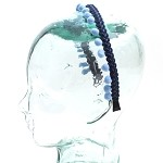 Blue Page Headband - for all ages